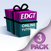 EDGT Tutorial Three Pack Bundle